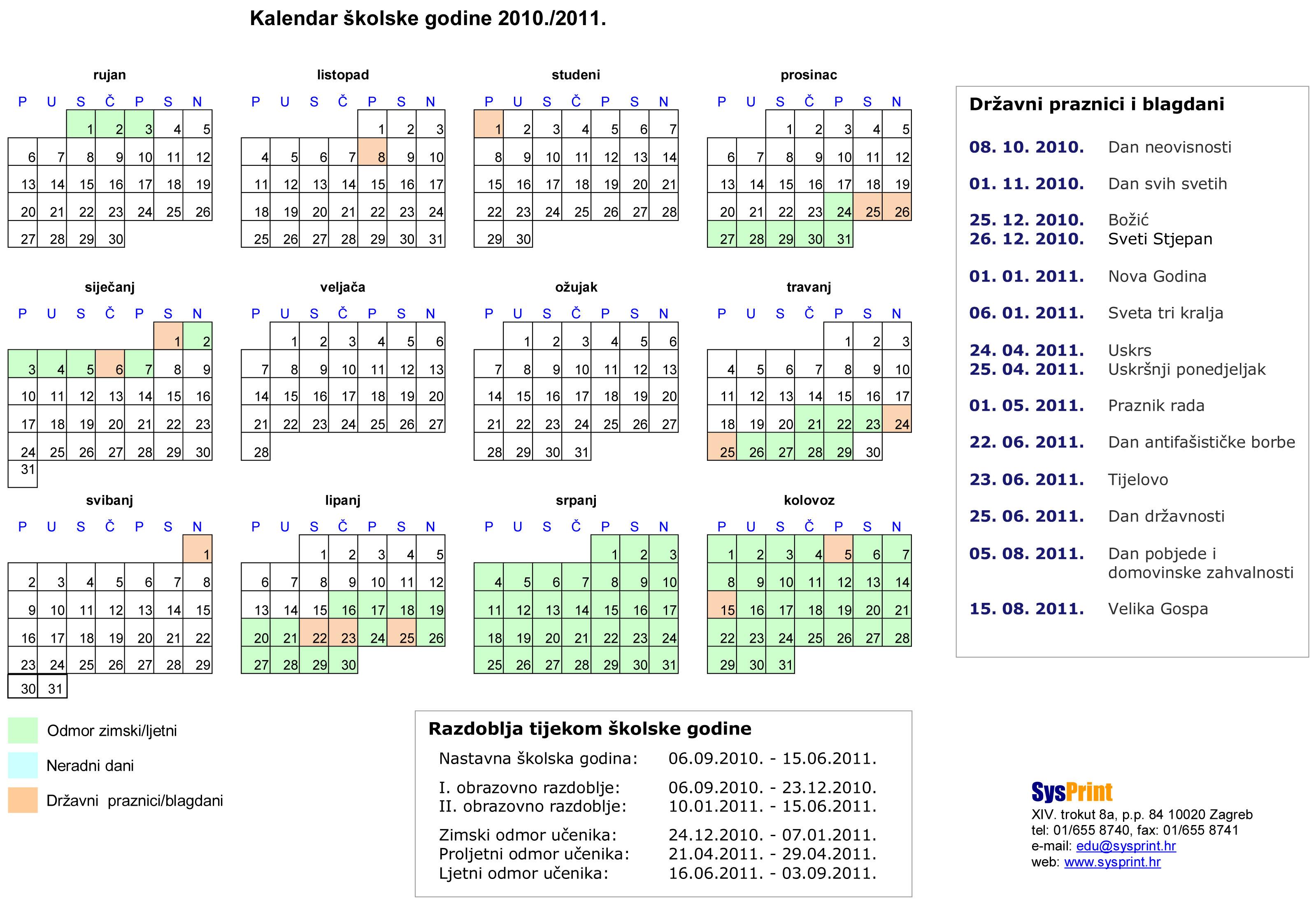 Pravoslavni Kalendar Za 2019 God